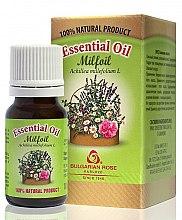 Düfte, Parfümerie und Kosmetik Ätherisches Bio Schafgarbenöl - Bulgarian Rose Milfoil Essential Oil