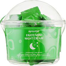 Düfte, Parfümerie und Kosmetik Nachtcreme für das Gesicht mit Centella - Ayoume Enjoy Mini Night Cream