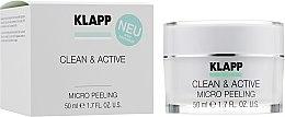 Düfte, Parfümerie und Kosmetik Reinigendes Mikropeeling für das Gesicht - Klapp Clean & Active Micro Peeling