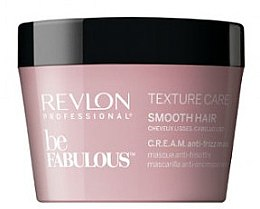 Düfte, Parfümerie und Kosmetik Glättende Haarmaske mit Anti-Frizz-Effekt - Revlon Professional Be Fabulous Smooth Hair Mask