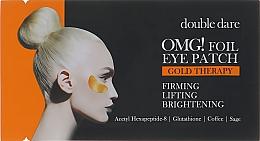 Düfte, Parfümerie und Kosmetik Aufhellende und festigende Augenpatches mit Gold - Double Dare Omg! Foil Eye Patch Gold Therapy