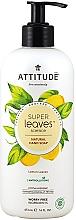 Düfte, Parfümerie und Kosmetik Flüssige Handseife Zitronenblätter - Attitude Super Leaves Natural Lemon Leaves Hand Soap