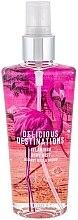 Düfte, Parfümerie und Kosmetik Parfümierter Körpernebel - Delicious Destinations Flamingo Body Mist