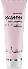 Düfte, Parfümerie und Kosmetik Gesichtsreinigungsschaum mit ätherischen Ölen und Limettenblütenwasser für fettige und Mischhaut - Sampar Pure Perfection Daily Dose Foaming Cleanser