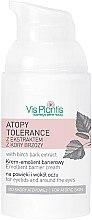 Düfte, Parfümerie und Kosmetik Augenkonturcreme - Vis Plantis Atopy Tolerance Emollient Eye Cream
