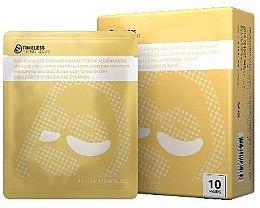Düfte, Parfümerie und Kosmetik Biocellulose-Collagenmaske für die Augenpartie - Timeless Truth Eye Mask Collagen Bio Cellulose