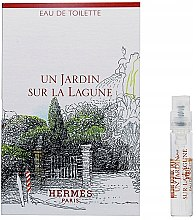 Düfte, Parfümerie und Kosmetik Hermes Un Jardin Sur La Lagune - Eau de Toilette (Probe)