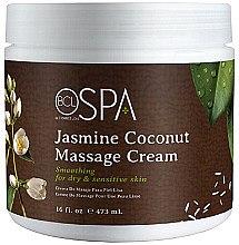Düfte, Parfümerie und Kosmetik Körper-Massagecreme für trockene und empfindliche Haut mit Jasmin und Kokos - BCL Spa Jasmine Coconut Massage Cream