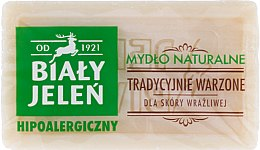 Düfte, Parfümerie und Kosmetik Hypoallergene Naturseife für empfindliche Haut - Bialy Jelen Hypoallergenic Natural Soap