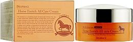 Düfte, Parfümerie und Kosmetik Anti-Falten Gesichtscreme mit Pferdeöl - Deoproce Horse Enrich All Care Cream