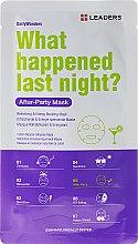 Düfte, Parfümerie und Kosmetik Gesichtsmaske - Leaders Daily Wonders After Party Mask
