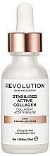 Düfte, Parfümerie und Kosmetik Feuchtigkeitsspendendes Gesichtsserum mit Kollagen - Makeup Revolution Skincare Stabilised Active Collagen