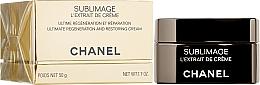 Düfte, Parfümerie und Kosmetik Regenerierende und revitalisierende Gesichtscreme - Chanel Sublimage L'extrait De Creme