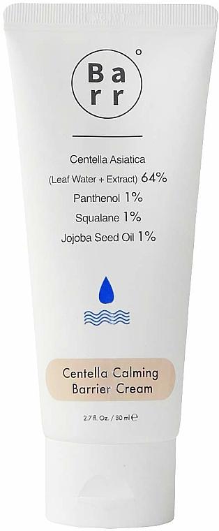 Beruhigende Gesichtscreme mit Centella Asiatica und Jojobaöl - Barr Centella Calming Barrier Cream — Bild N1