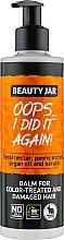 """Haarspülung """"Oops... I Did It Again!"""" für gefärbtes und beschädigtes Haar - Beauty Jar Oops I Did It Again — Bild N1"""