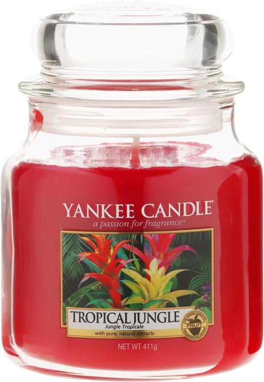 Duftkerze im Glas Tropical Jungle - Yankee Candle Tropical Jungle Jar