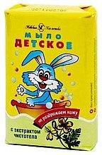 Düfte, Parfümerie und Kosmetik Seife für Kinder mit Schöllkraut-Extrakt - Nevskaya Cosmetica Baby Soap Celandine