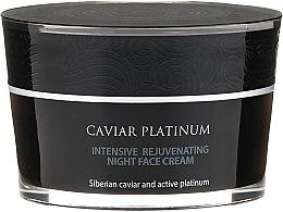 Intensiv regenerierende Nachtcreme - Natura Siberica Caviar Platinum Intensive Rejuvenating Night Face Cream — Bild N2