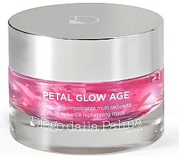 Düfte, Parfümerie und Kosmetik Revitalisierende und glättende Anti-Aging Gesichtsmaske für strahlende Haut - Diego Dalla Palma Petal Glow Age
