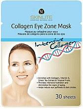 Düfte, Parfümerie und Kosmetik Verjüngende Patch-Maske für die Augenkontur mit Kollagen, Vitamin E und Grüntee-Extrakt - Skinlite Collagen Eye Zone Mask