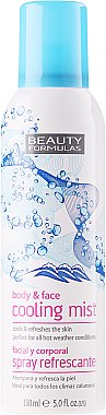 Kühlender und erfrischender Körper- und Gesichtsnebel - Beauty Formula Cooling Mist Spray — Bild N1