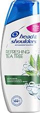 """Düfte, Parfümerie und Kosmetik Anti-Shuppen Shampoo """"Erfrischender Teebaum"""" - Head & Shoulders Tea Tree Shampoo"""