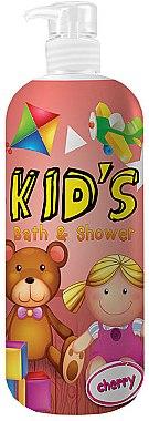 """Duschgel & Badeschaum für Kinder """"Cherry"""" - Hegron Kid's Cherry Bath & Shower — Bild N1"""