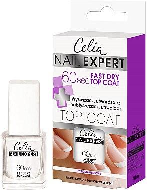 Nagellacktrockner - Celia Nail Expert 60 sec Fast Dry Top Coat — Bild N1