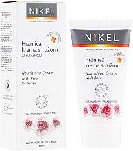 Düfte, Parfümerie und Kosmetik Pflegende Gesichtscreme mit Rose - Nikel Nourishing Cream with Rose