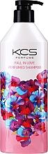 Düfte, Parfümerie und Kosmetik Feuchtigkeitsspendendes Shampoo für trockenes und strapaziertes Haar mit süßem Blumenduft - KCS Fall In Love Perfumed Shampoo
