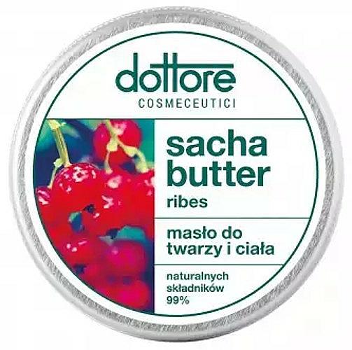 Gesichts- und Körperbutter Erdbeere - Dottore Sacha Butter Ribes — Bild N1