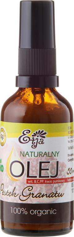 Natürliches Granatapfelkernenöl - Etja Bio — Bild N2