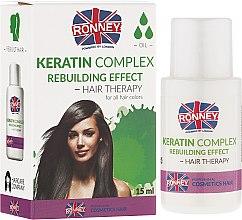 Düfte, Parfümerie und Kosmetik Regenerierendes Keratin Öl für Haar - Ronney Keratin Complex Rebuilding Effect Hair Therapy