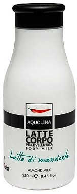 Schützende und feuchtigkeitsspendende Körperlotion - Aquolina Body Milk Almond Milk — Bild N1