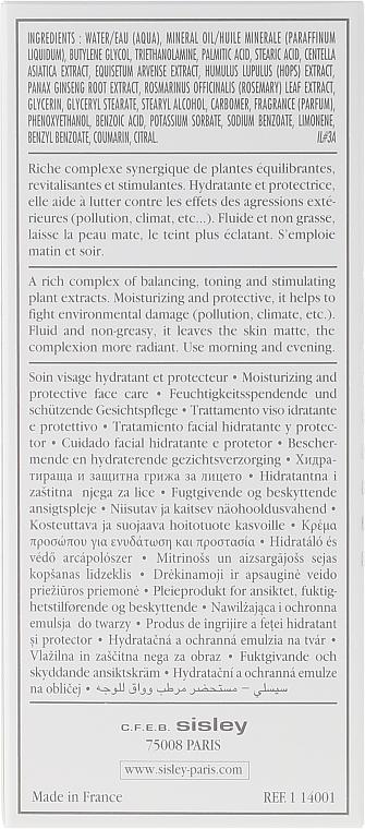 Gesichtsemulsion für Tag und Nacht für alle Hauttypen - Sisley Emulsion Ecologique Ecological Compound — Bild N3