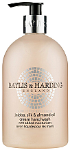 """Düfte, Parfümerie und Kosmetik Flüssige Handseife """"Schöllkraut"""" - Baylis & Harding Jojoba Silk & Almond Oil Hand Wash"""
