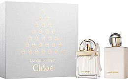 Düfte, Parfümerie und Kosmetik Chloe Love Story - Kosmetikset (Eau de Parfum/50ml + Körperlotion/100ml)