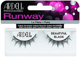 Düfte, Parfümerie und Kosmetik Künstliche Wimpern - Ardell Runway Lashes Beautiful Black