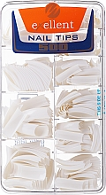 Düfte, Parfümerie und Kosmetik Künstliche Nägel k/k - Silcare Tipsy Exellent French White