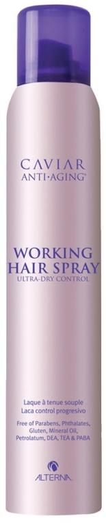 Haarlack - Alterna Caviar Working Hair Spray Ultra Dry Control — Bild N1