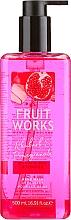 Düfte, Parfümerie und Kosmetik Flüssige Handseife mit Rhabarber und Granatapfel - Grace Cole Fruit Works Hand Wash Rhubarb & Pomegranate