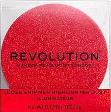 Düfte, Parfümerie und Kosmetik Loser Highlighter mit Schimmer - Makeup Revolution Shimmer Dust