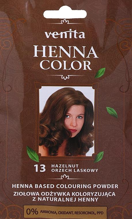 Kräuterfarbhaarspülung aus natürlicher Henna - Venita Henna Color — Bild N3