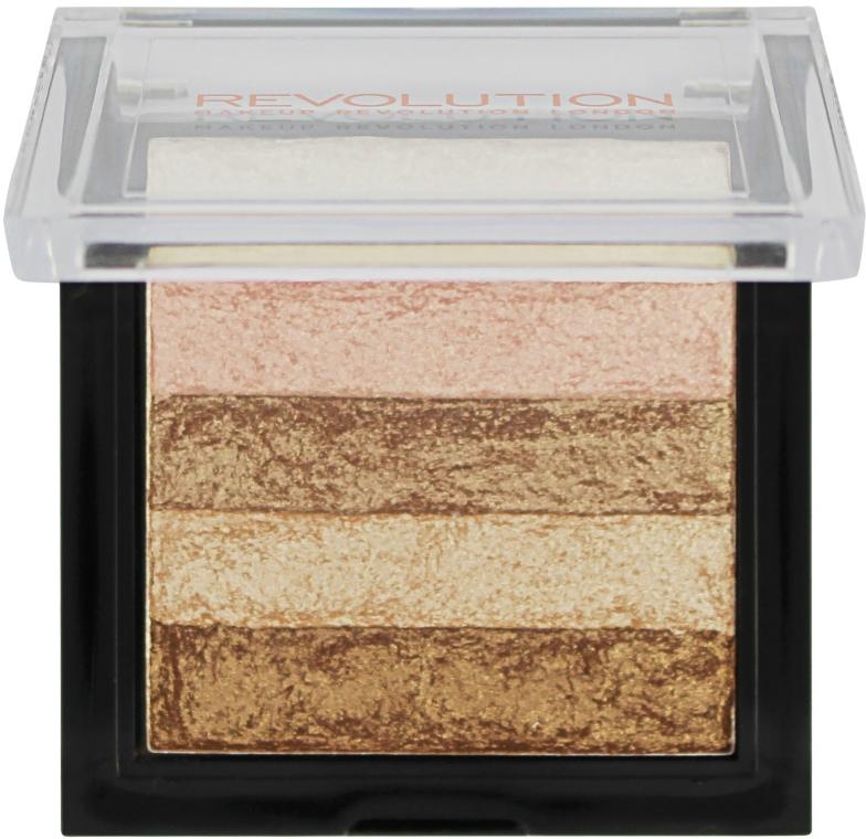 Schimmerpuder mit 5 Farben - Makeup Revolution Shimmer Brick — Bild N2