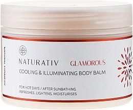 Düfte, Parfümerie und Kosmetik Körperbalsam - Naturativ Cooling & Illuminating Body Balm