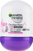 Düfte, Parfümerie und Kosmetik Deo Roll-on Antitranspirant - Garnier Mineral Protection 6 Cotton Fresh