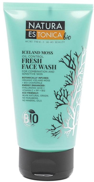 Gesichtswaschgel für empfindliche und Mischhaut mit Islandmoos - Natura Estonica Iceland Moss Face Wash — Bild N1