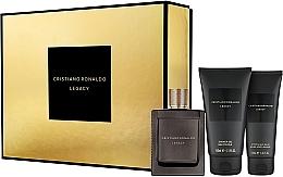 Düfte, Parfümerie und Kosmetik Cristiano Ronaldo Legacy - Duftset (Eau de Toilette 100ml + Duschgel 150ml + After Shave Balsam 100ml)