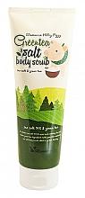 Düfte, Parfümerie und Kosmetik Körperpeeling mit Meersalz und grünem Tee - Elizavecca Body Care Milky Piggy Greentea Salt Body Scrub