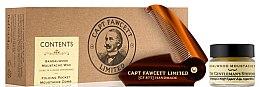 Düfte, Parfümerie und Kosmetik Pflegeset für Männer - Captain Fawcett Sandalwood (Schnurrbartwachs 15ml + Schnurrbartkamm)